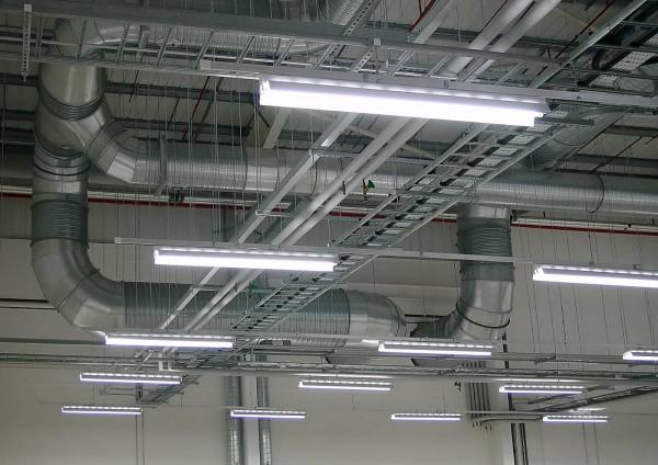 освещение производственного помещения
