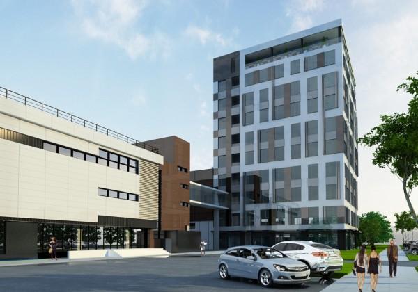 этажность общественнхы зданий