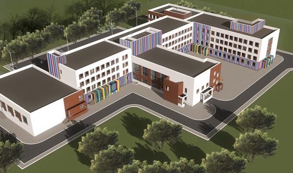 проект здания общеобразовательной школы