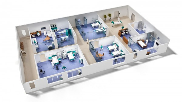 планирование медицинских помещений