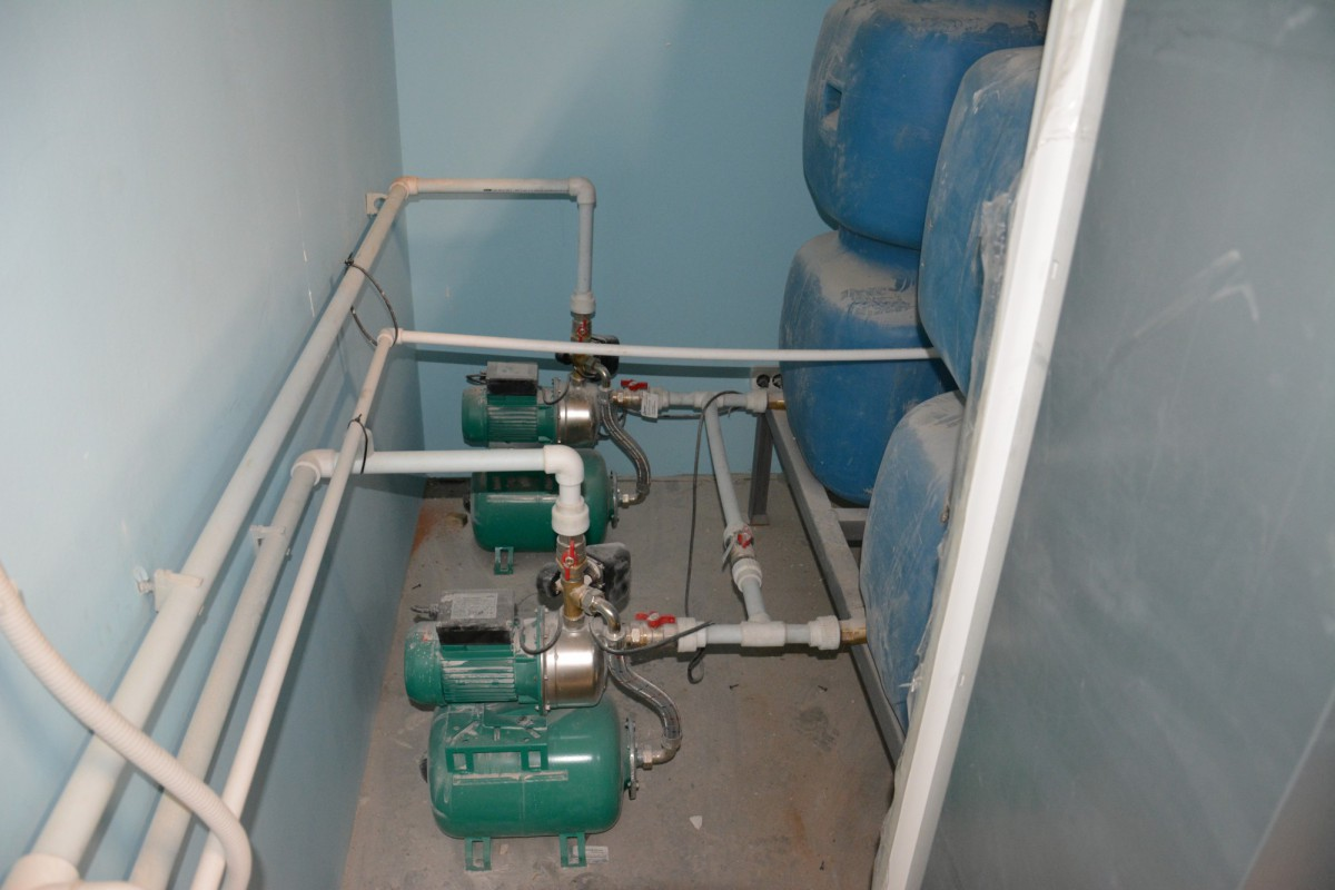 Монтаж узла водоснабжения от 3 000 руб шт.