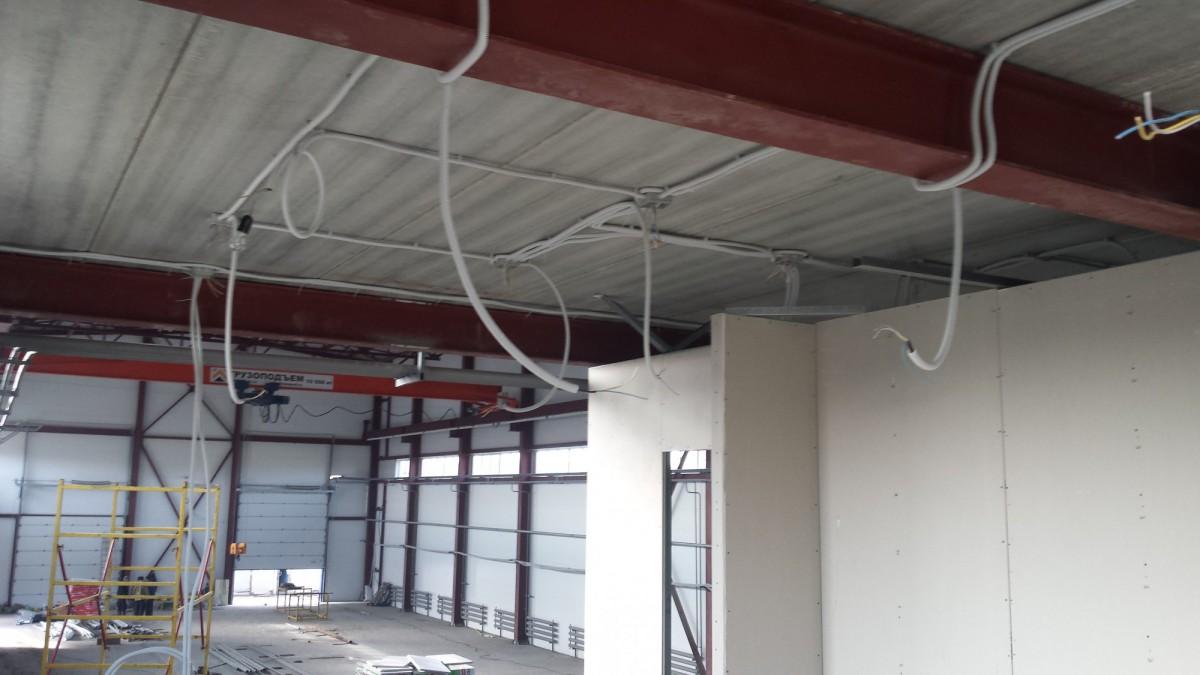 Монтаж электроснабжения в зданиях коммерческого назначения от 1500 руб м2 под ключ