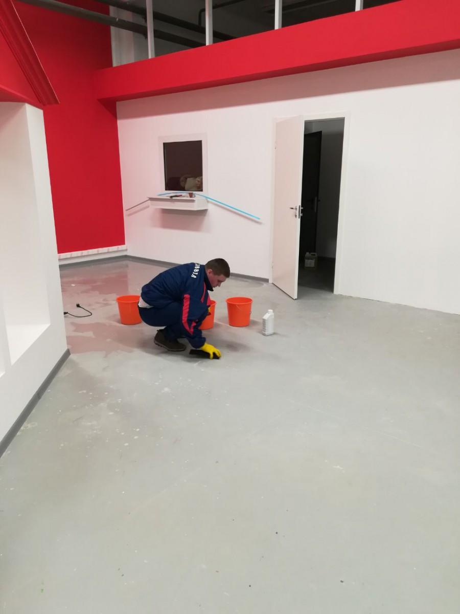 Влажная уборка помещения от 30 руб м2