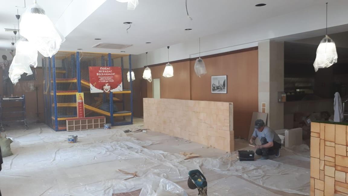 Косметический ремонт помещения кафе от 1 500 р./ м2