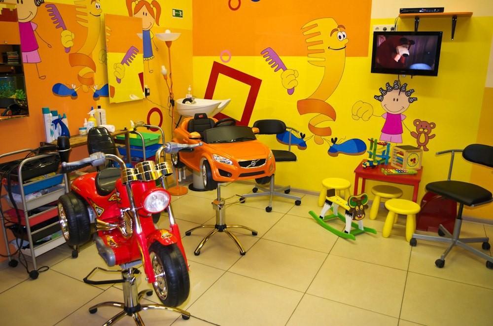 Строительство и отделка детских парикмахерских