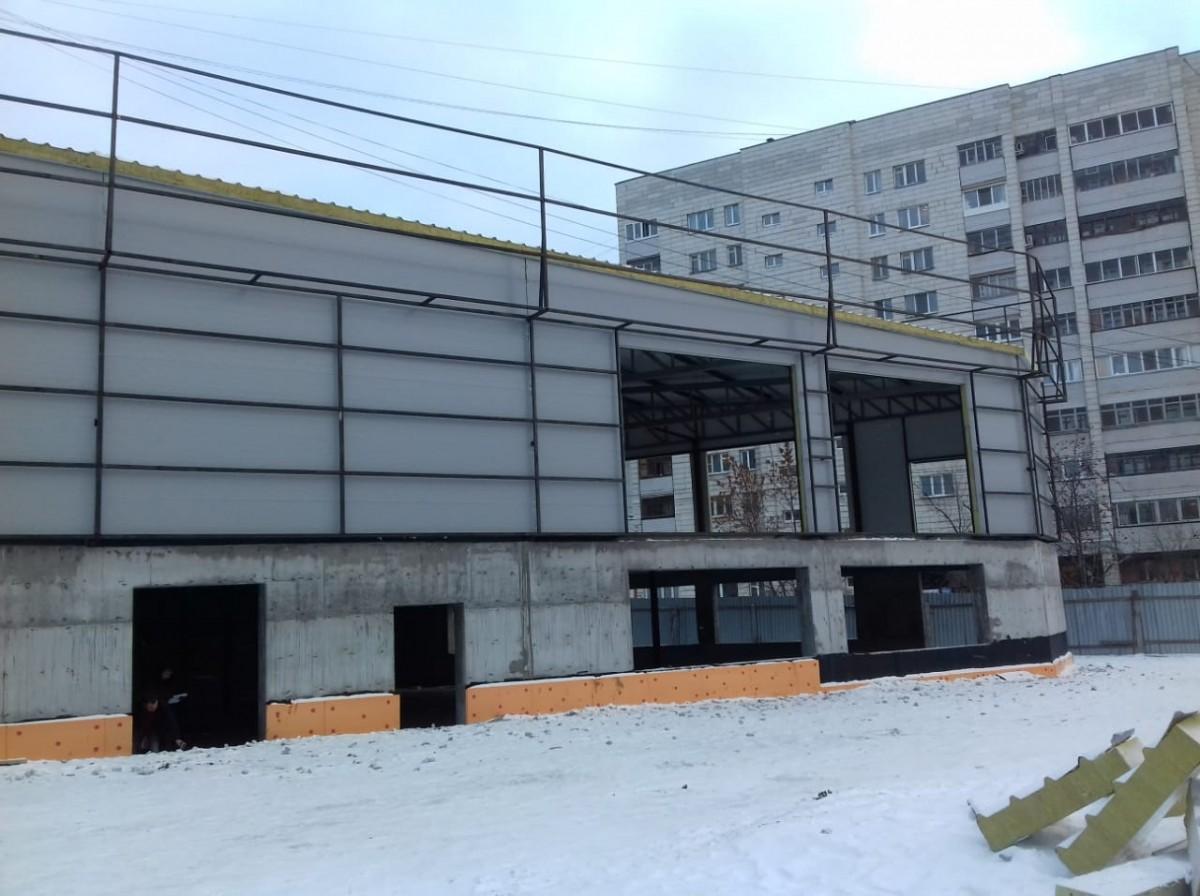 Строительство зданий из сэндвич панелей по металлокаркасу объект 1
