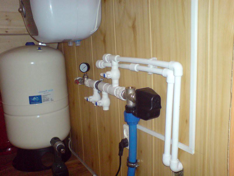 Монтаж системы водоснабжения в частном доме