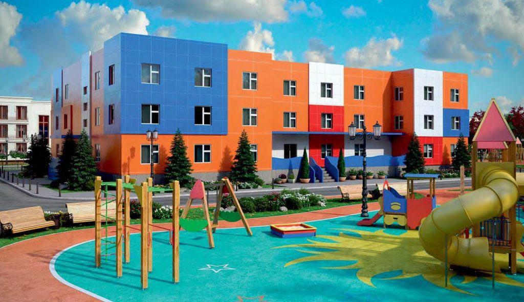 Строительство детского сада от 38000 р./ м2 под ключ