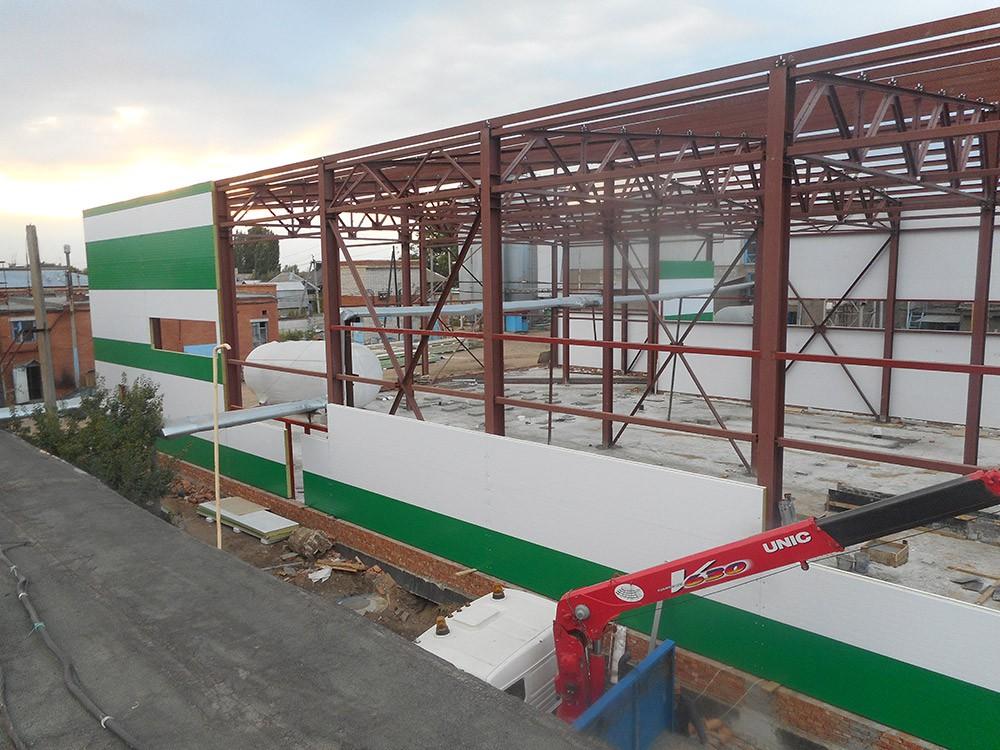 Строительство складского помещения от 20 000 р./ м2